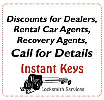 Discounts for Dealers, Rental Car Agents, Recovery Agents, Call for Details